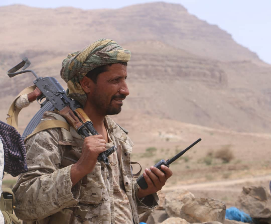 Yemeni army launches fierce offensive against Houthis in Nihm and al-Jawf. (Supplied)