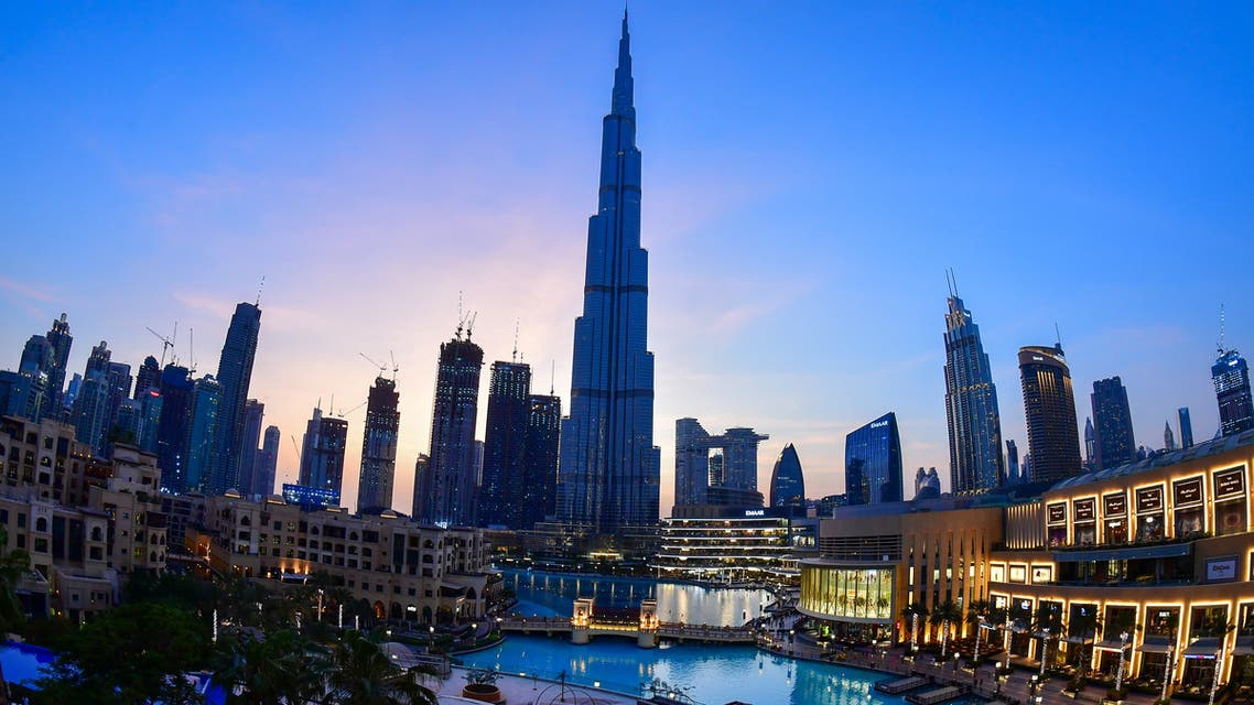 A picture taken on July 19, 2020 shows Dubai's Burj Khalifa, the tallest structure and building in the world since 2009. (AFP)