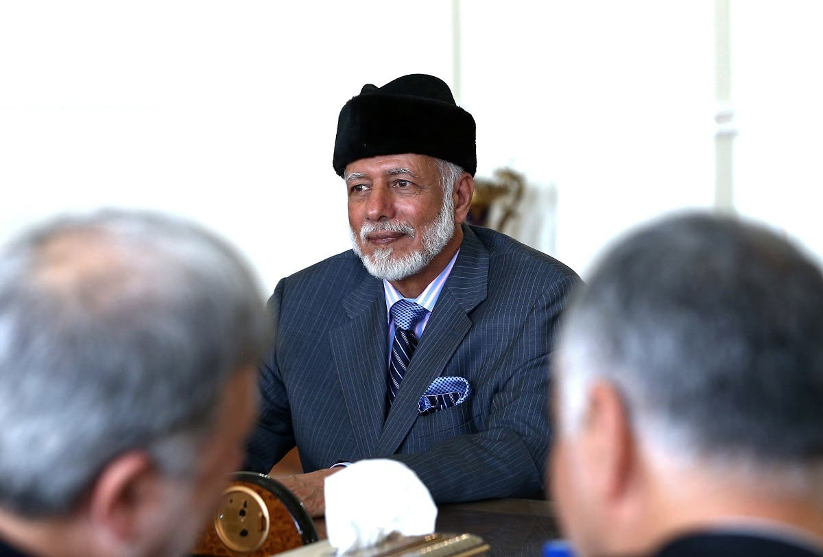 Oman's Minister of State for Foreign Affairs Yousuf bin Alawi bin Abdullah. (Reuters)