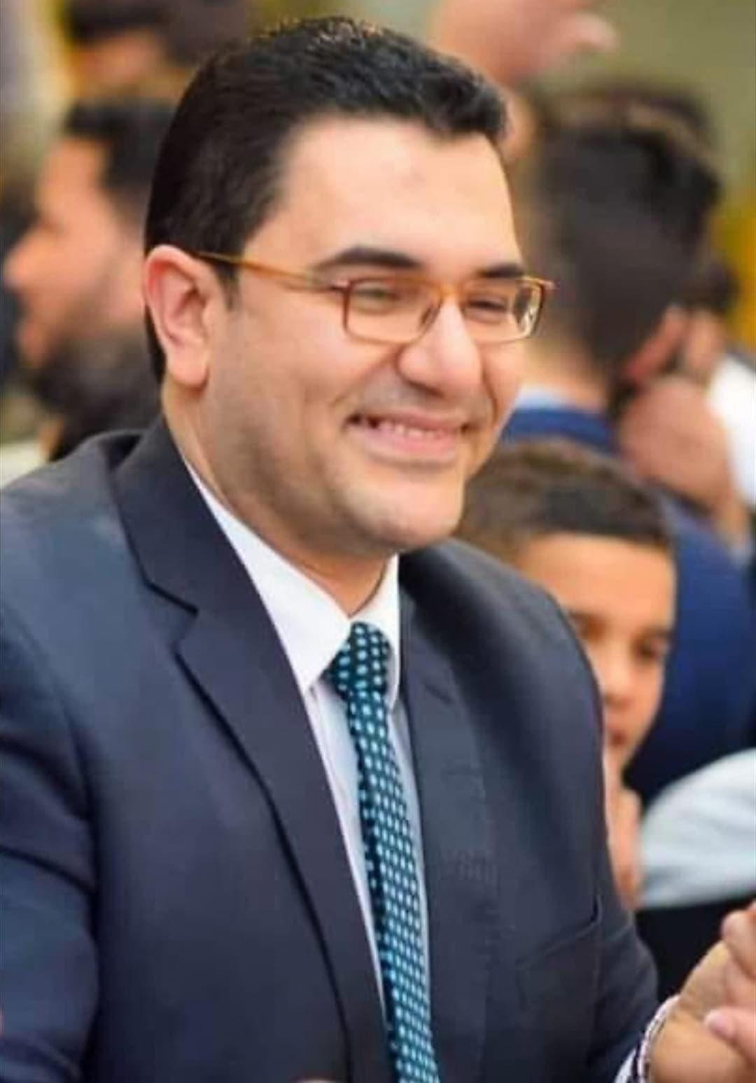 الطبيب الشاب أحمد ماضي