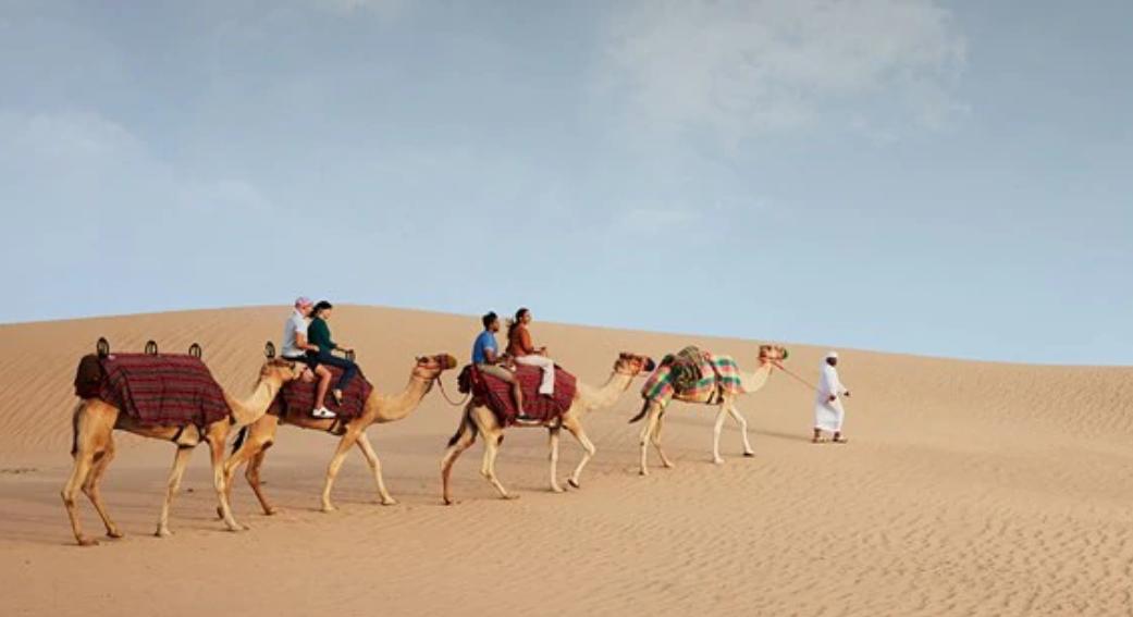 A background image, part of the Dubai backgrounds for video calls initiative. (Courtesy: Dubai Tourism)