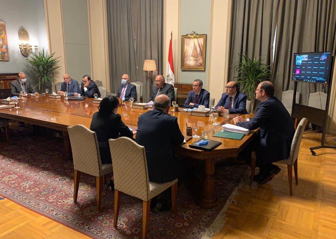 اجتماع وزراء الخارجية والري في مفاوضات سد النهضة