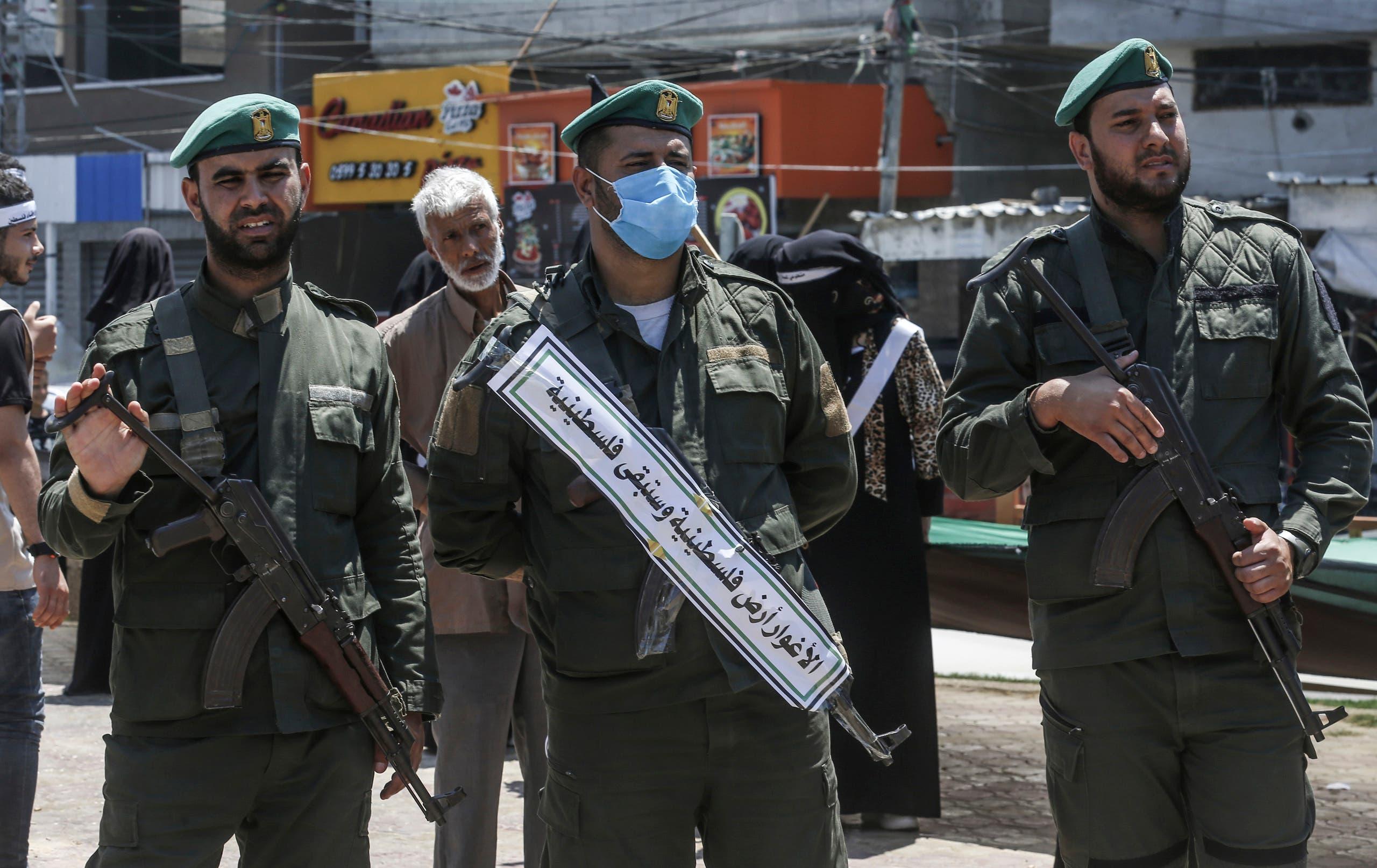 عناصر من حماس في رفح