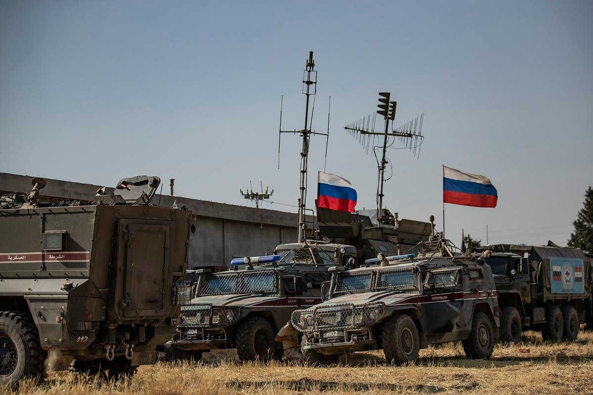 قوات روسية في شمال سوريا