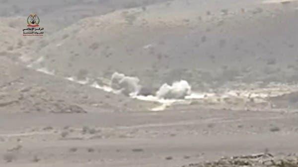 فيديو.. أسرى حوثيون بقبضة الجيش اليمني في جبهة نهم