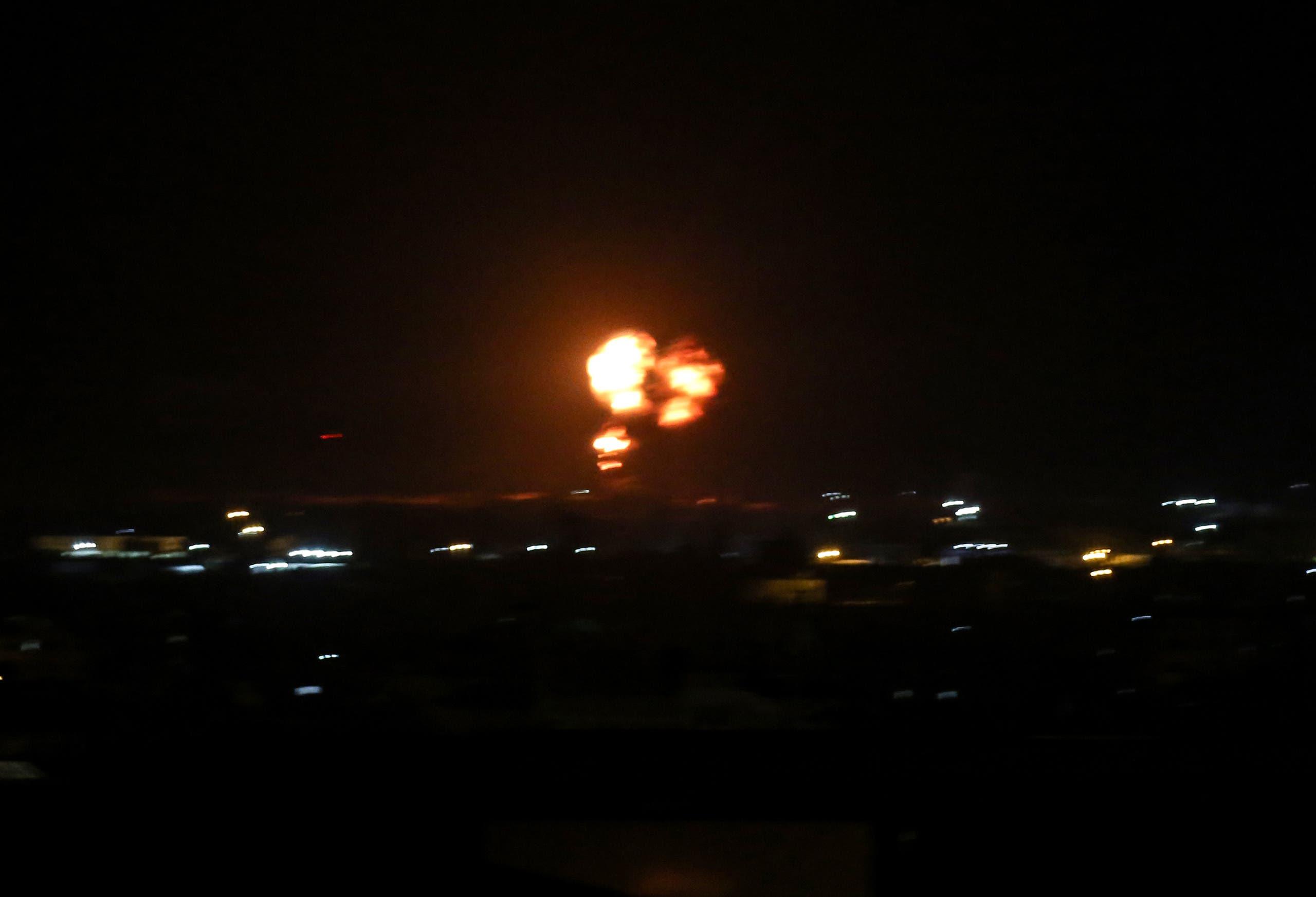 غارات إسرائيلية على غزة في أغسطس الماضي