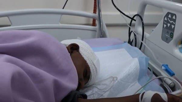 """شاهد.. """"طفلة الماء"""" تعيد التذكير بمأساة تعز وجرائم الحوثيين"""