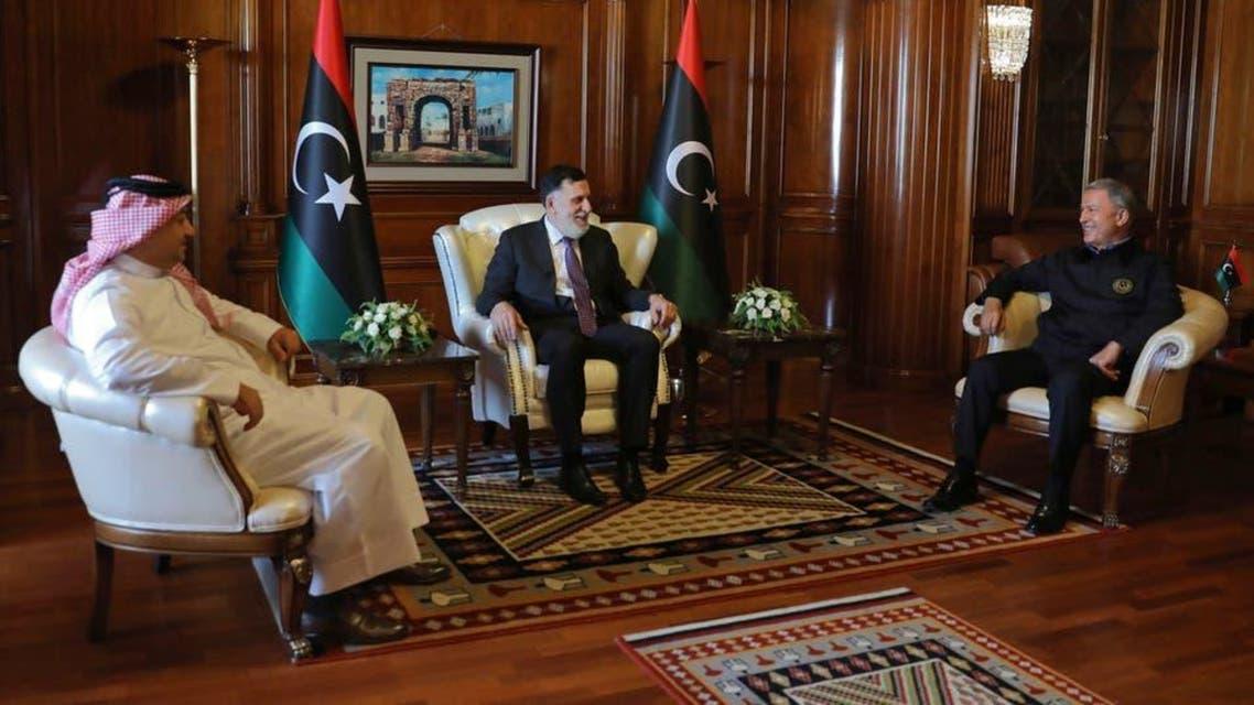 Trukey, Libya and Qatar