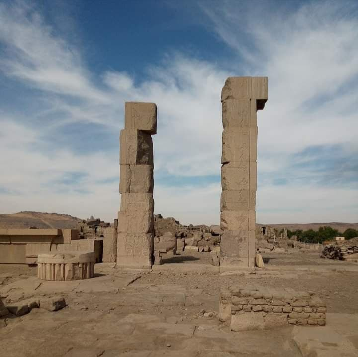 أطلال معبد خنوم