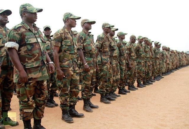 عناصر تابعة للجيش المالي