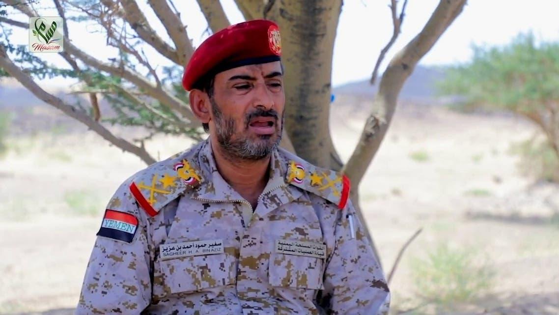 رئيس أركان الجيش اليمني قائد العمليات المشتركة الفريق الركن صغير بن عزيز
