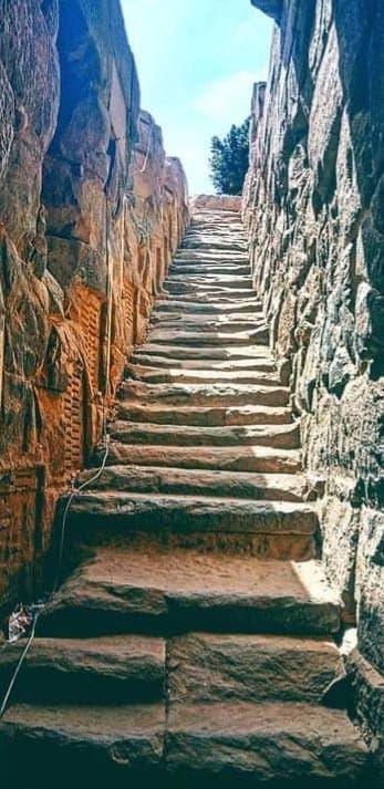 الدرج الداخلي لمقياس النيل