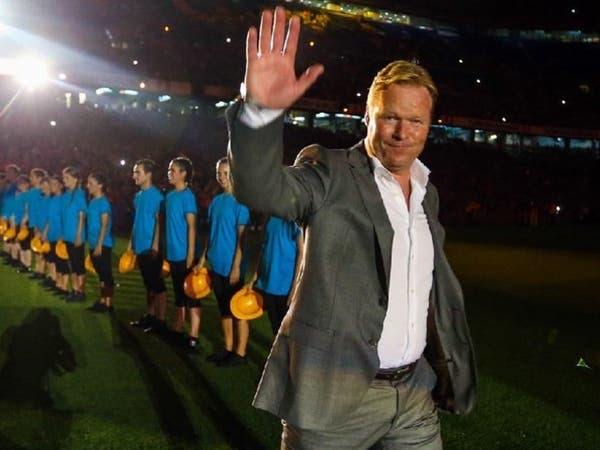 الهولندي كومان مدرباً لبرشلونة حتى 2022