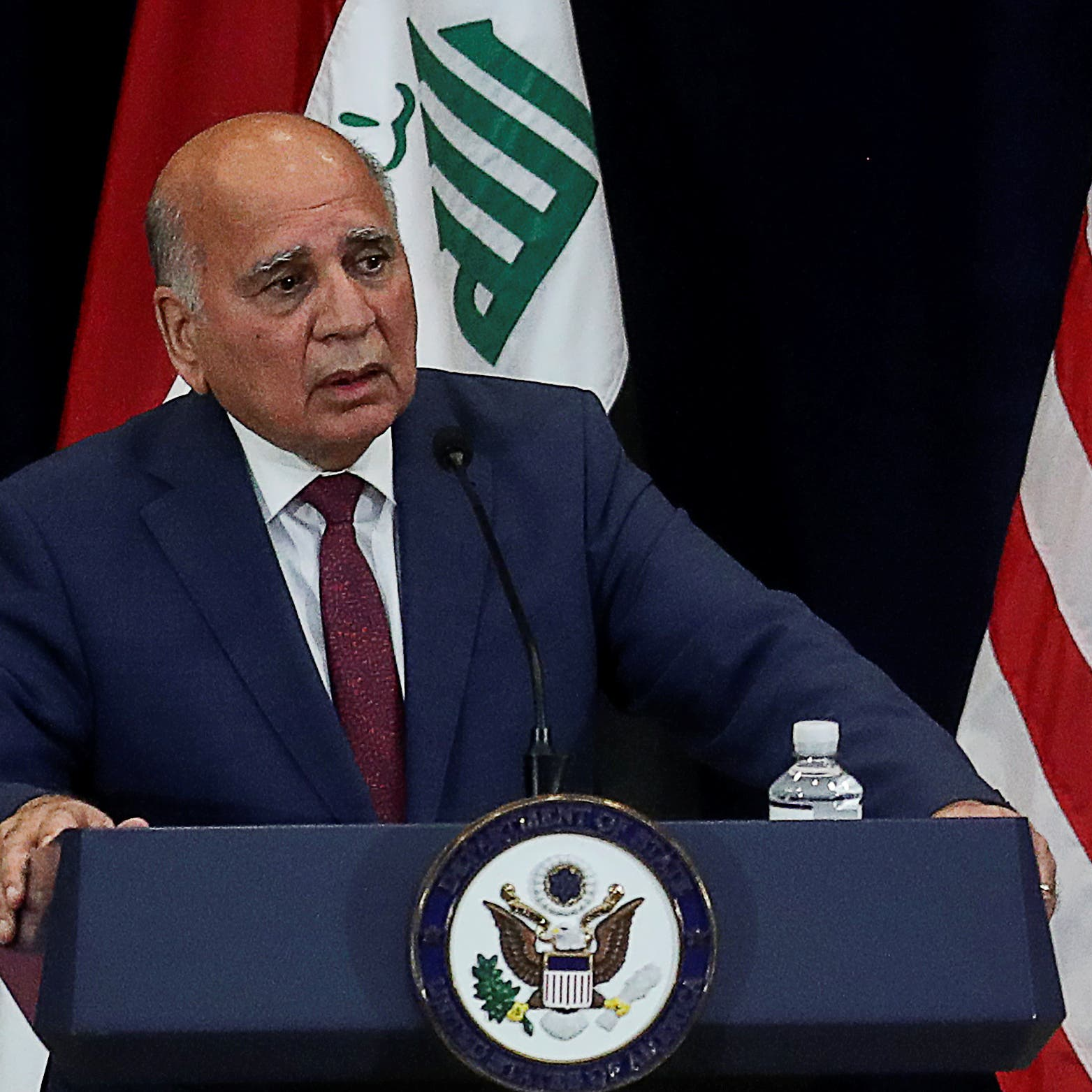 وزير خارجية العراق: أمننا مترابط مع الأمن الأوروبي