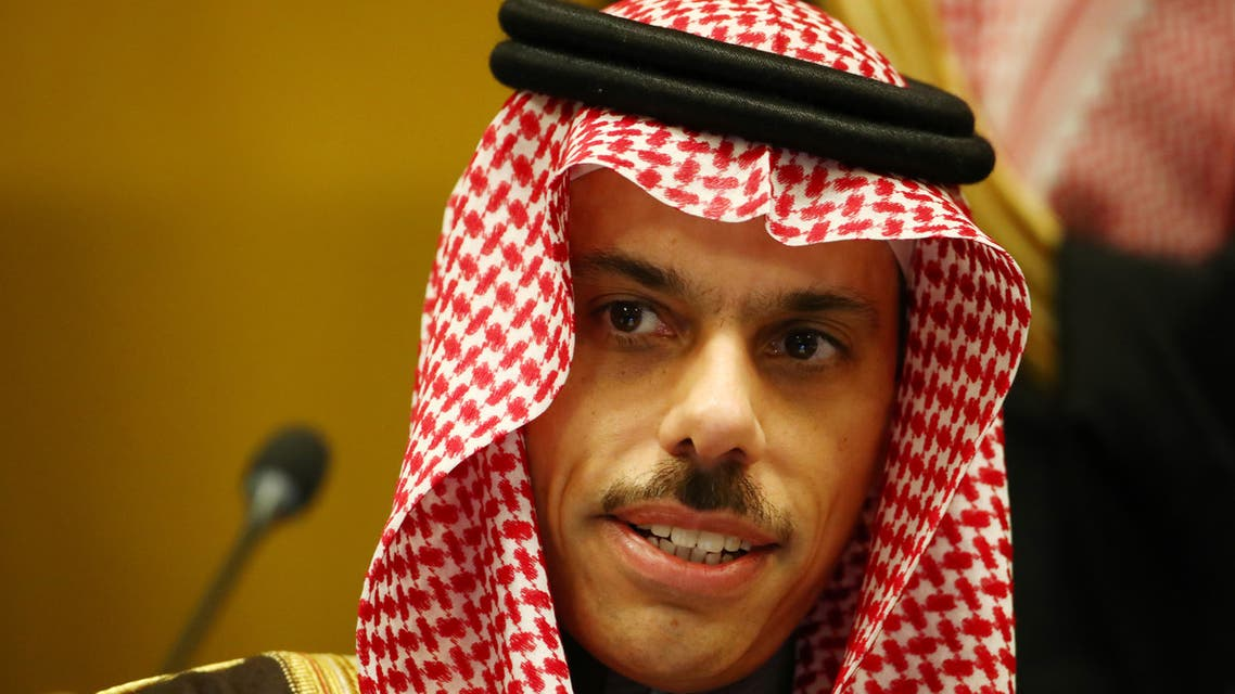 Saudi Foreign Minister Faisal Bin Farhan al-Saud attends the Conference on Disarmament at the United Nations in Geneva, Switzerland, February 24, 2020. REUTERS/Denis Balibouse