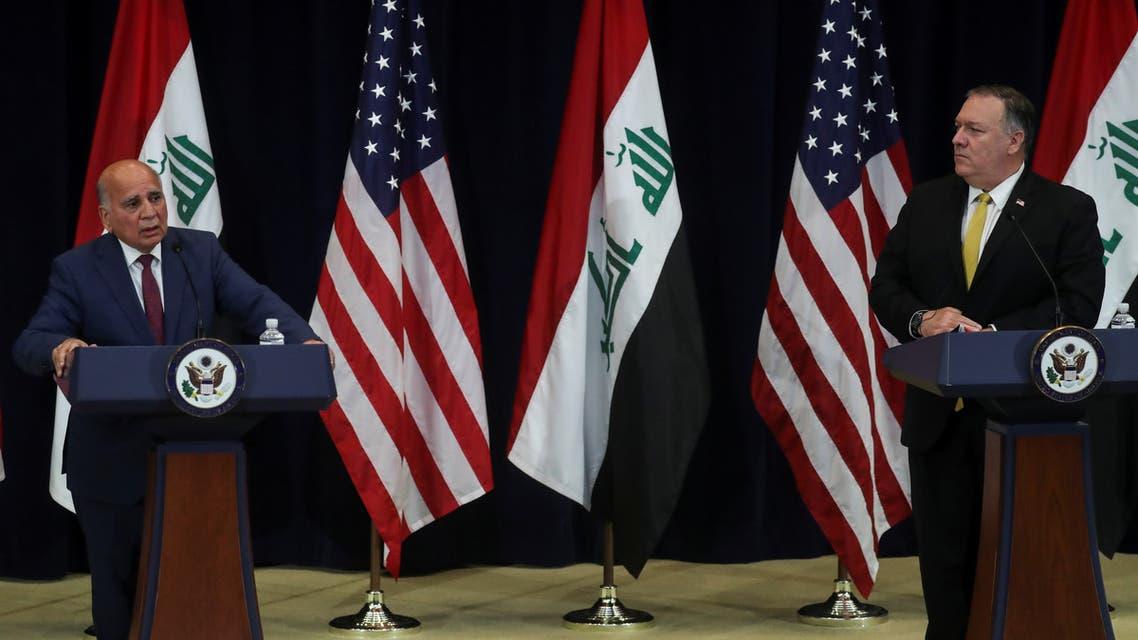 وزيرا خارجية أميركا و العراق
