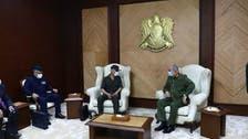 حفتر يلتقي مدير المخابرات الحربية المصرية بمقر قيادة الجيش