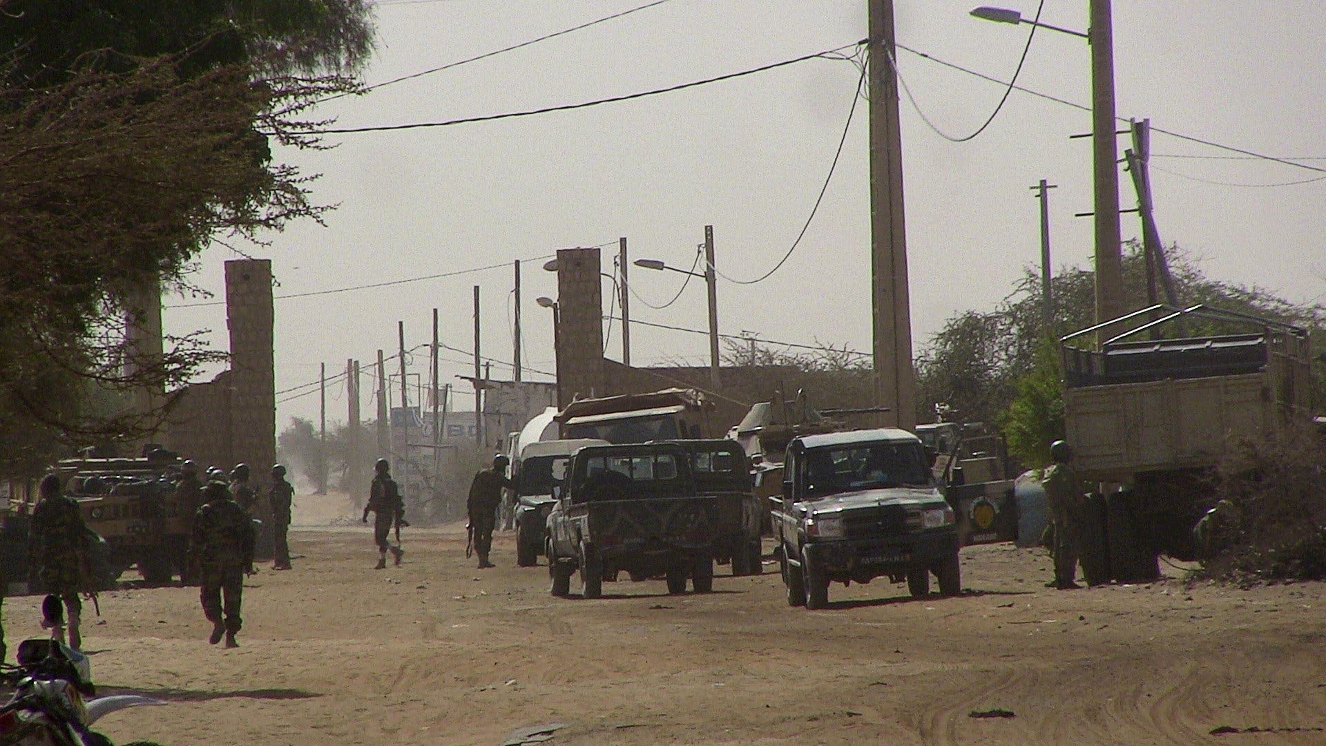 الجيش المالي على مدخل تمبكتو