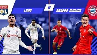 پیروزی مقتدرانه بایرن مونیخ مقابل لیون و راهیابی به فینال لیگ قهرمانان اروپا