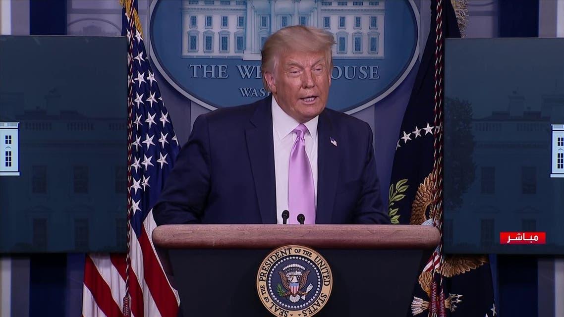 Trump press briefing Aug 19