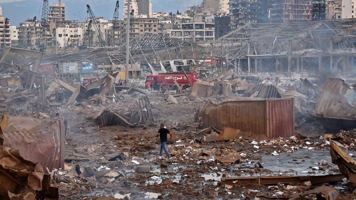 من بيروت يوم 4 أغسطس