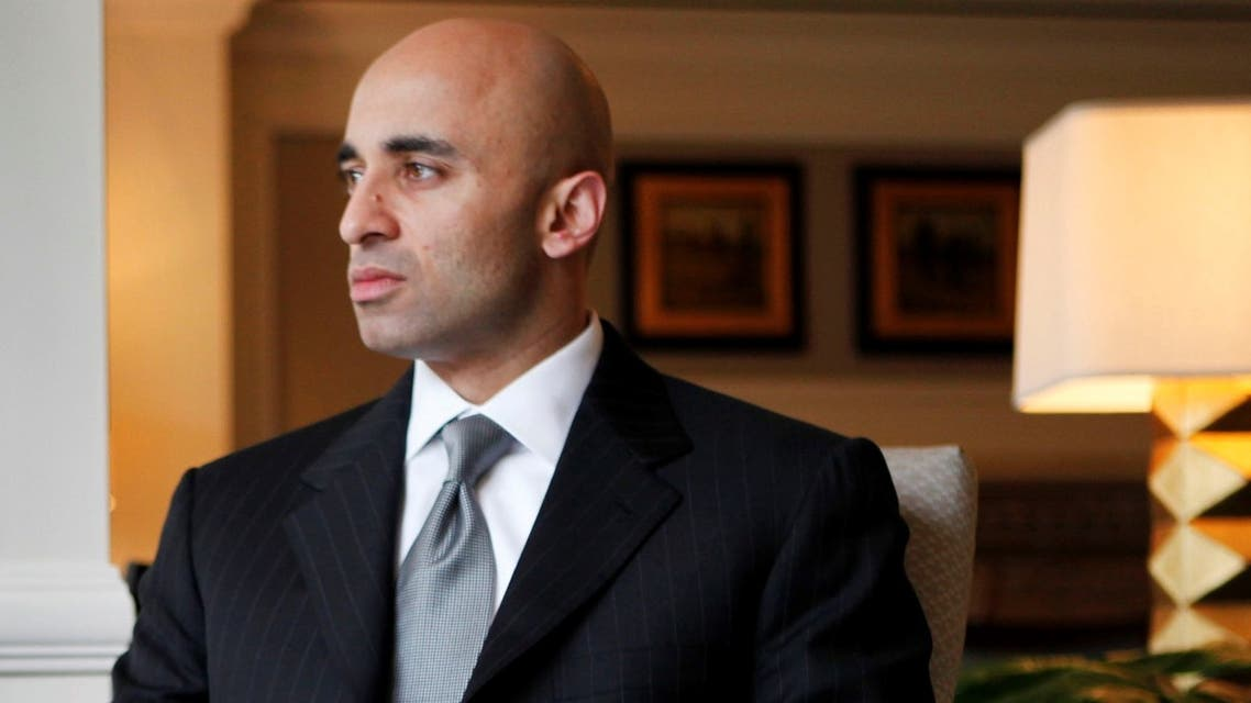 UAE Ambassador to the US Yousef Al Otaiba in Washington. (File photo: AP)