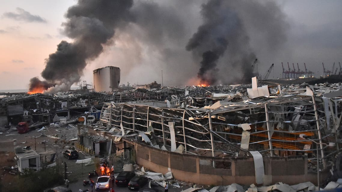 من مرفأ بيروت يوم 4 أغسطس