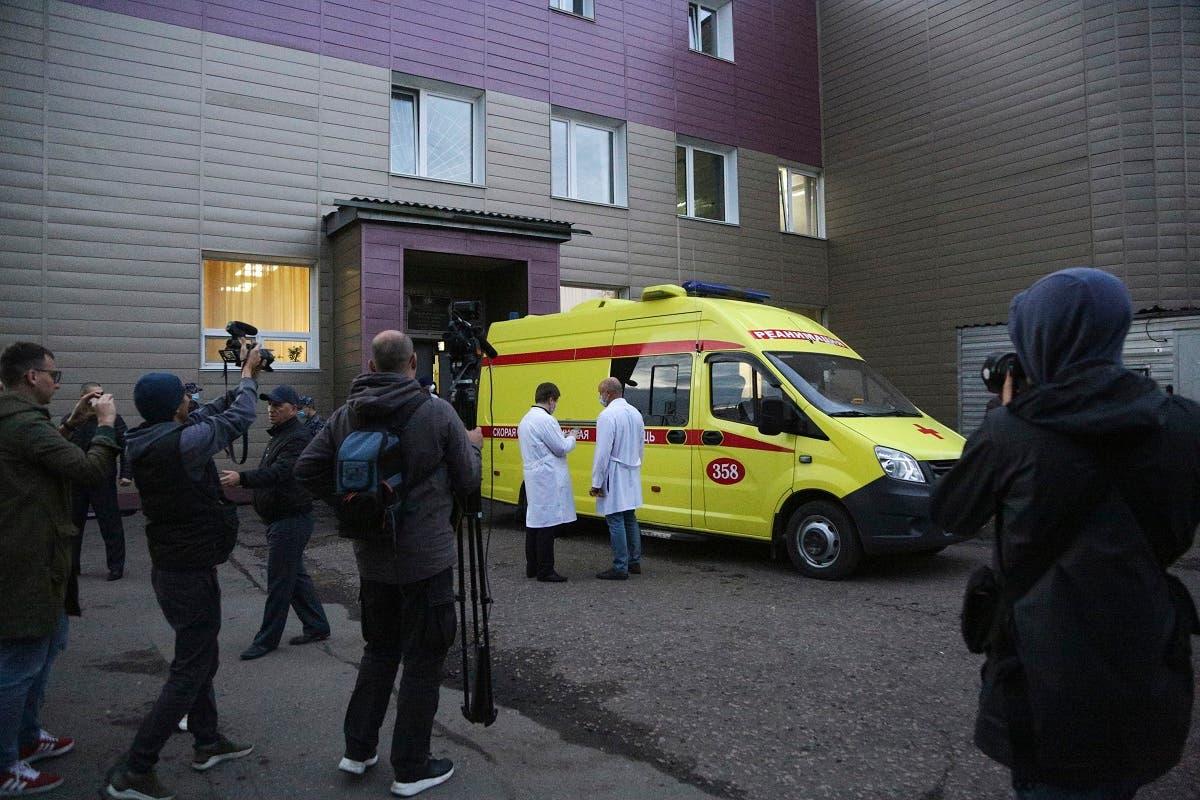 نقل سكريبال من مستشفى سيبيريا إلى برلين