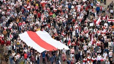 Tens of thousands of Belarusians protest against government in Minsk