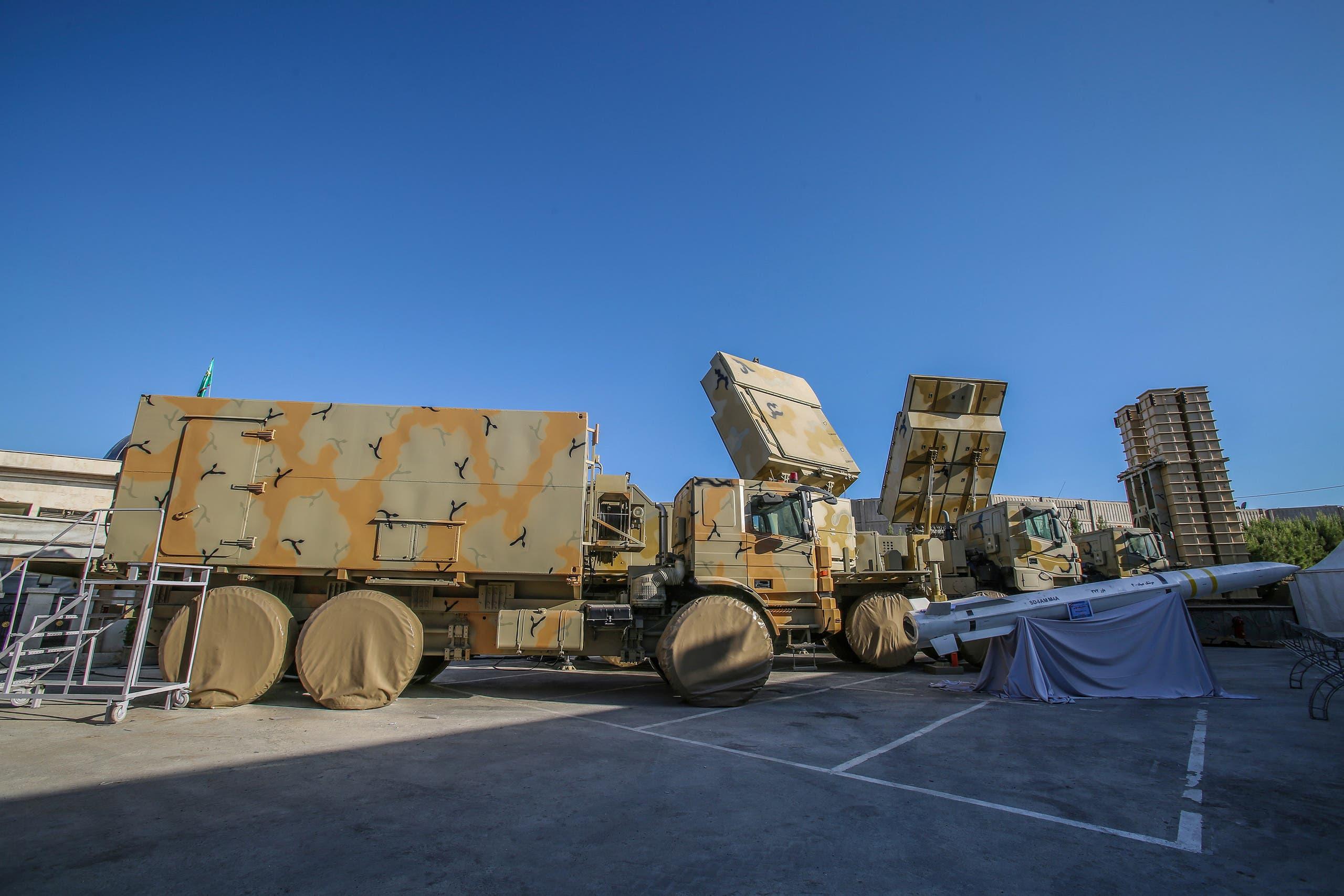 معدات عسكرية إيرانية الصنع