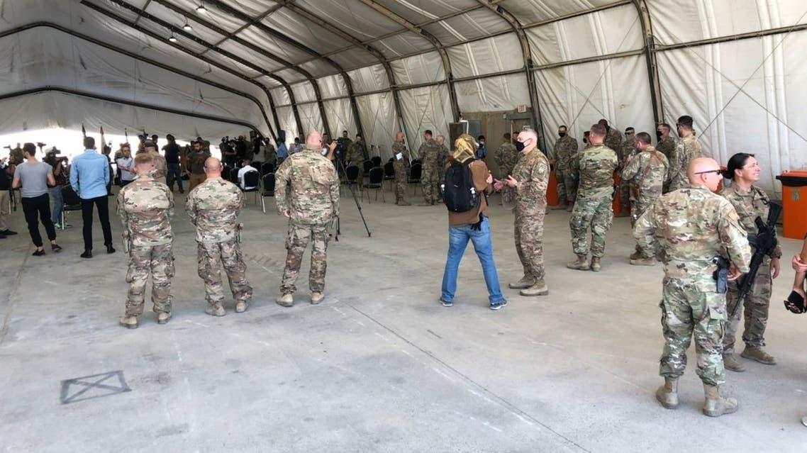 التحالف ينسحب من موقع في قاعدة التاجي في العراق ويسلمه للجيش