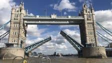 London's iconic Tower Bridge gets stuck leading to traffic deadblocked