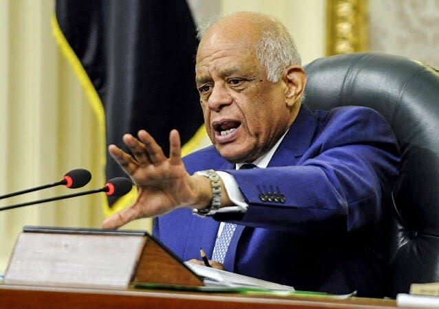 رئيس البرلمان علي عبد العال