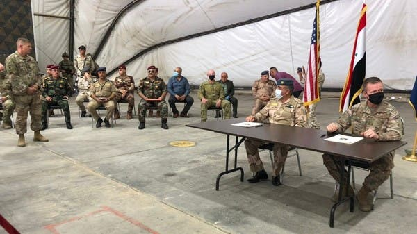 التحالف ينسحب من قاعدة التاجي شمال بغداد