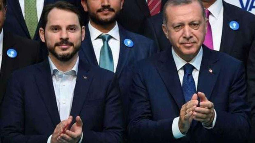 بيرات ألبيرق مع أردوغان