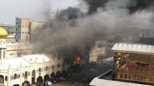 Large fire erupts in Africa's historic Durban mosque