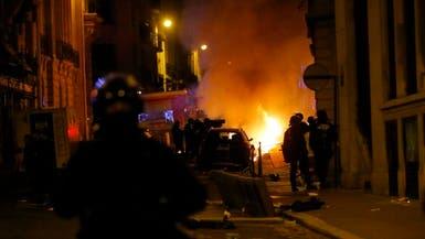 أعمال شغب وتخريب في باريس عقب خسارة سان جيرمان