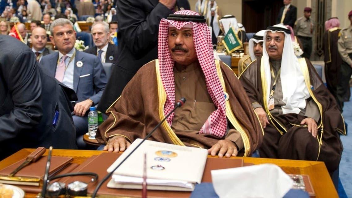 Kuwait's Crown Prince Sheikh Nawaf al-Ahmed al-Jaber al-Sabah. (File photo: Reuters)