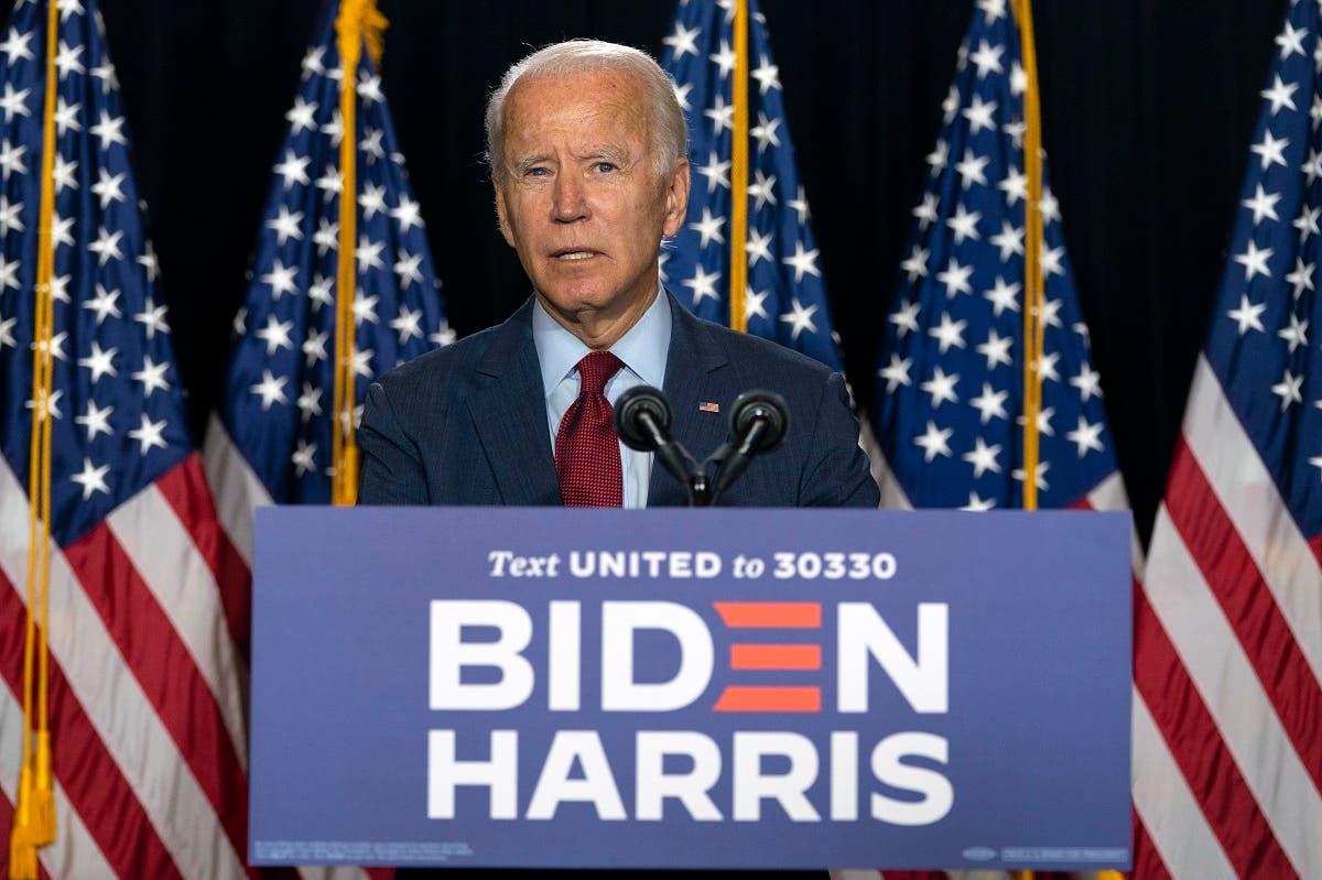 Democratic presidential candidate former VP Joe Biden speaks during a news conference in Delaware. (File Photo: AP)