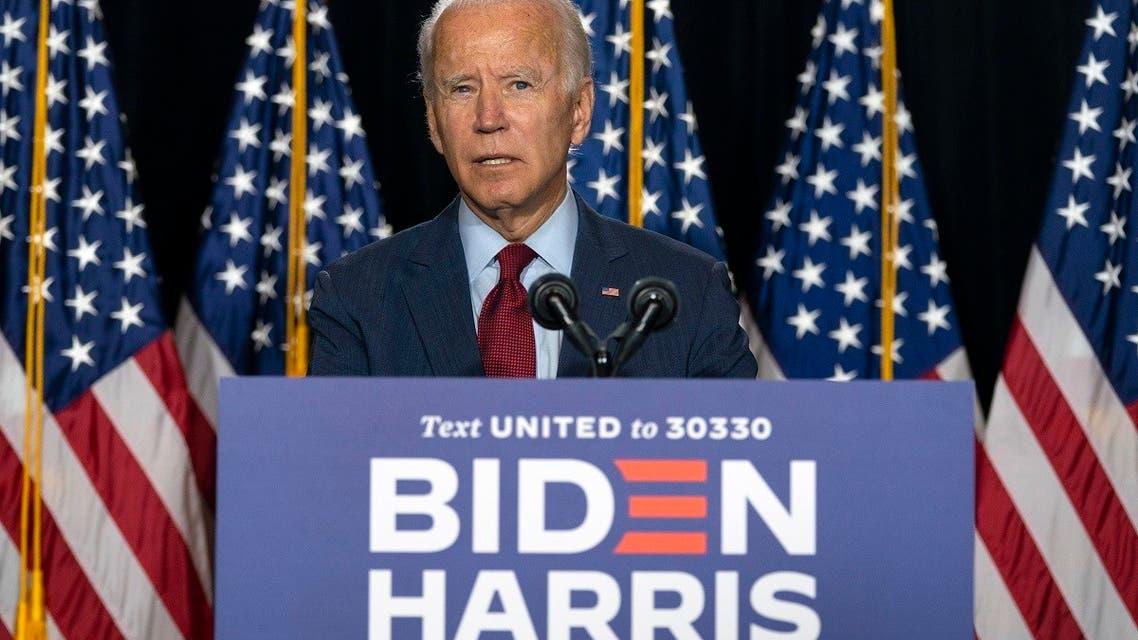 Democratic presidential candidate former VP Joe Biden speaks during a news conference in Delaware. (File Photo: AP)