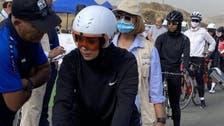 پہلی مرتبہ : ابہا میں سائیکل ریس میں سعودی خواتین کی شرکت