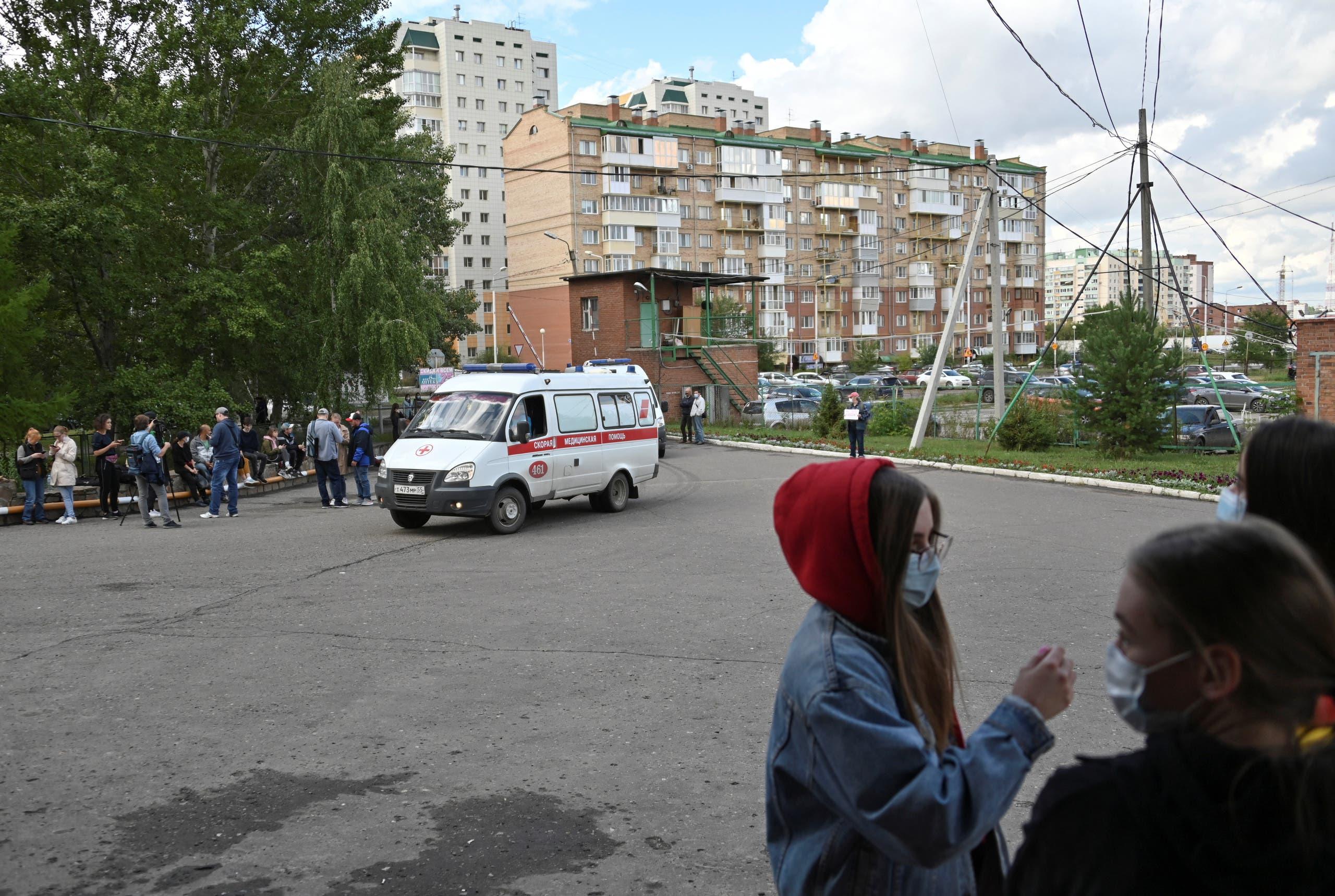 مستشفى في سيبيريا تم نقل نافالني إليه عقب تسميمه