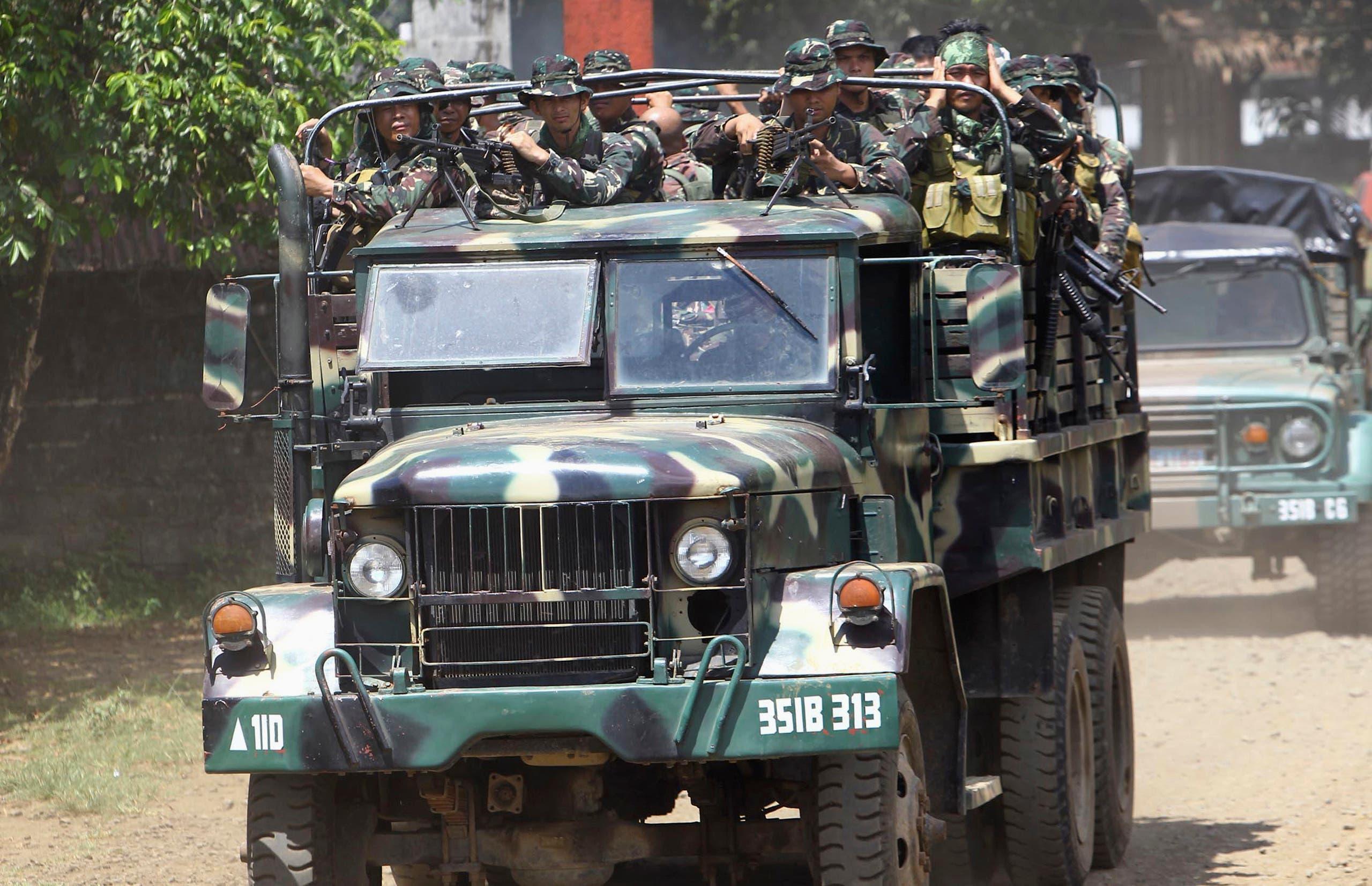 الجيش الفلبيني في جولو (أرشيفية)