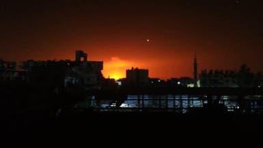 سوريا.. إخماد النيران بعد انفجار بخط النفط الرئيسي بريف دمشق