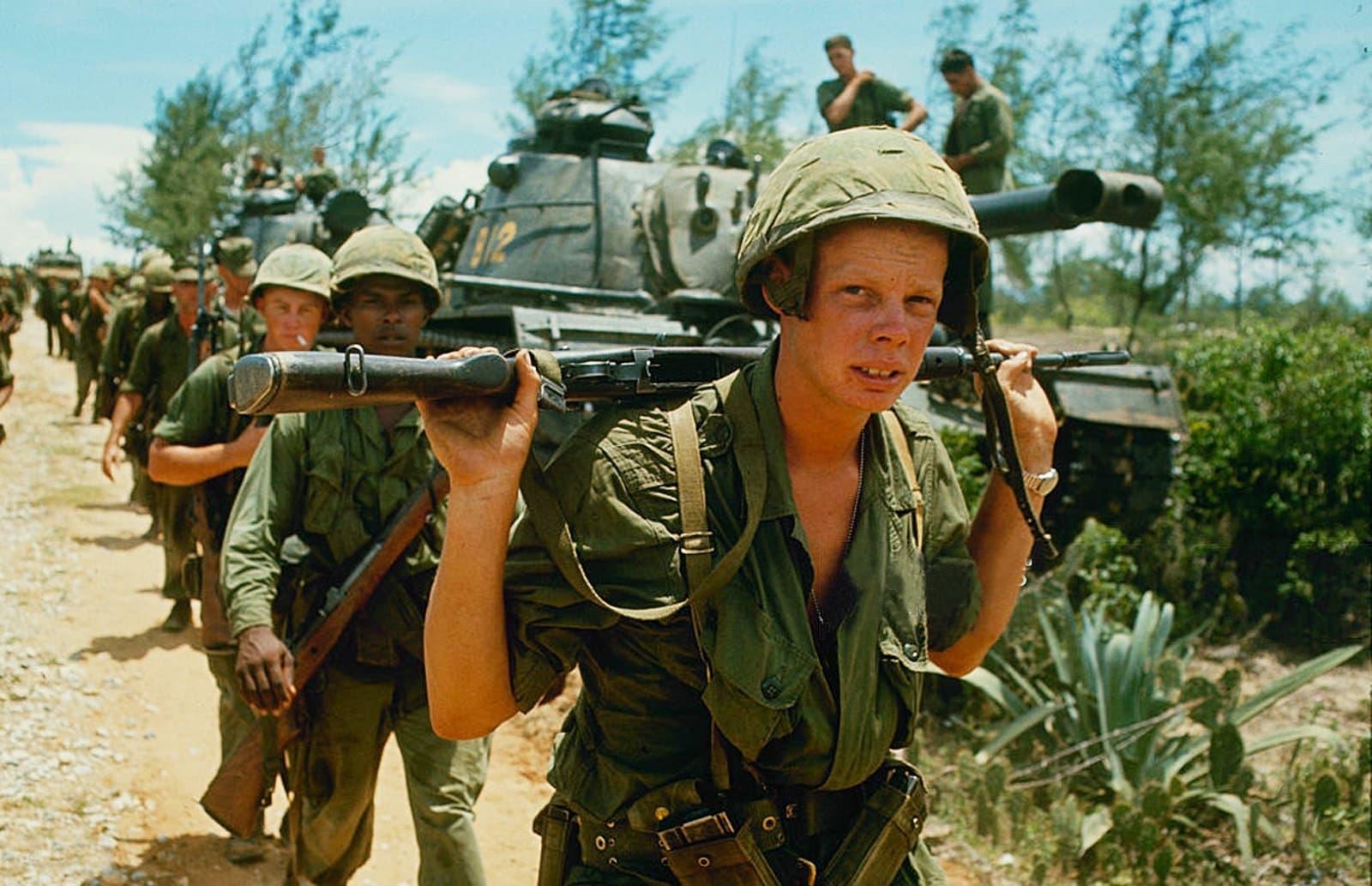 مجند أميركي شاب بفيتنام