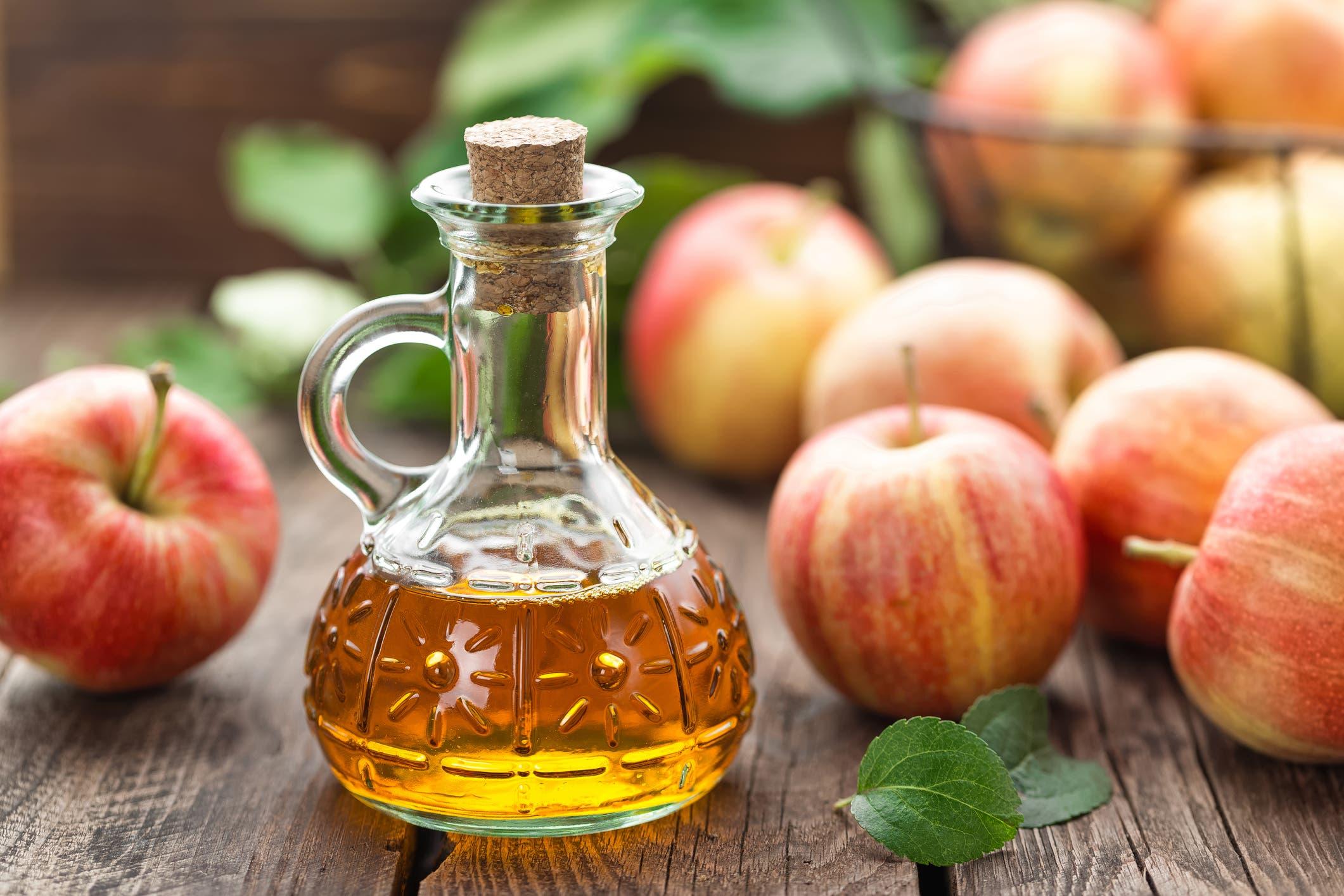 محلول خل التفاح