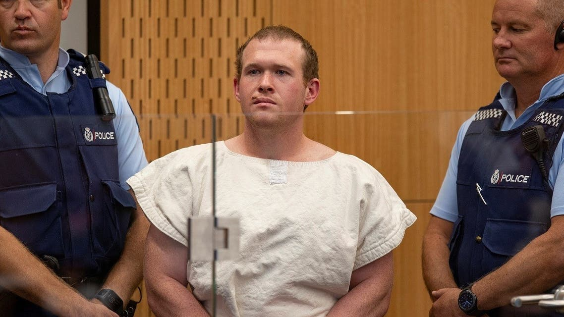 Brenton Tarrant, charged for murder in relation to the mosque attacks, is seen in the dock during his appearance in the Christchurch District Court, New Zealand March 16, 2019. (Reuters)