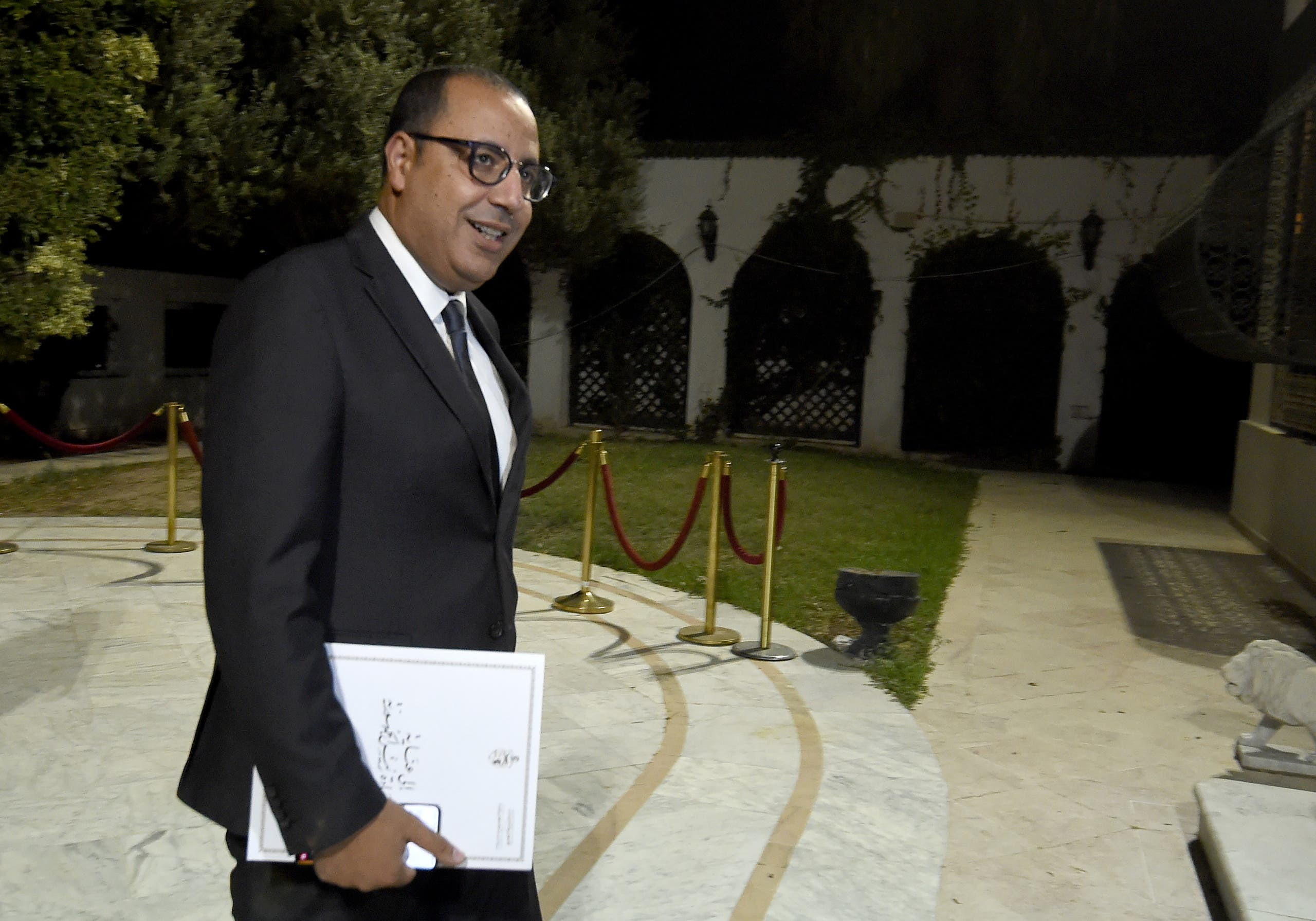 رئيس وزراء تونس هشام المشيشي (أرشيفية- فرانس برس)