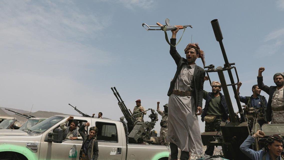 THUMBNAIL_ الإرياني: ميليشيات الحوثي لم تخض معارك مع العناصر المتطرفة