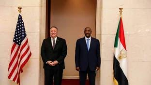 بومبيو يبحث مع البرهان ترتيبات رفع السودان من قائمة الإرهاب